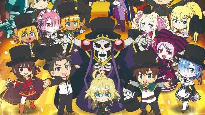 Isekai Quartet Season 2 Poster