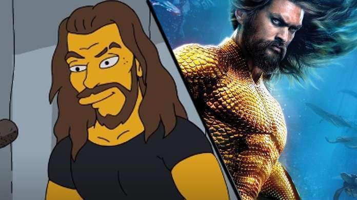 Jason Momoa The Simpsons