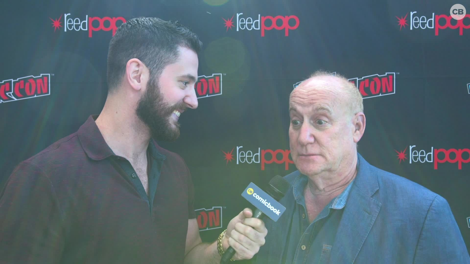 Jeph Loeb - NYCC 2019 Exclusive Interview screen capture