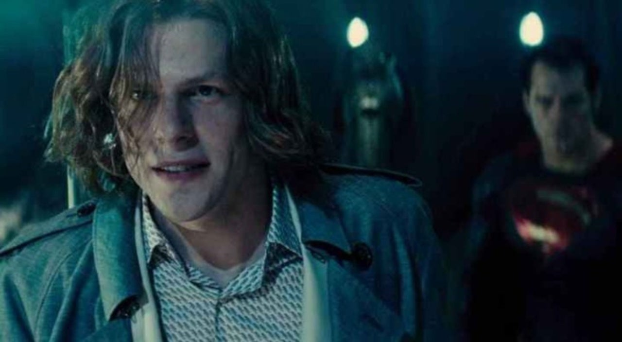 Jesse Eisenberg Wants Another Shot at Playing Lex Luthor