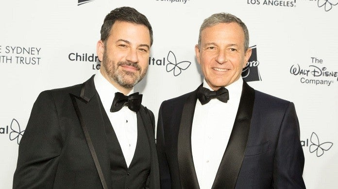 jimmy-kimmel-bob-iger-getty