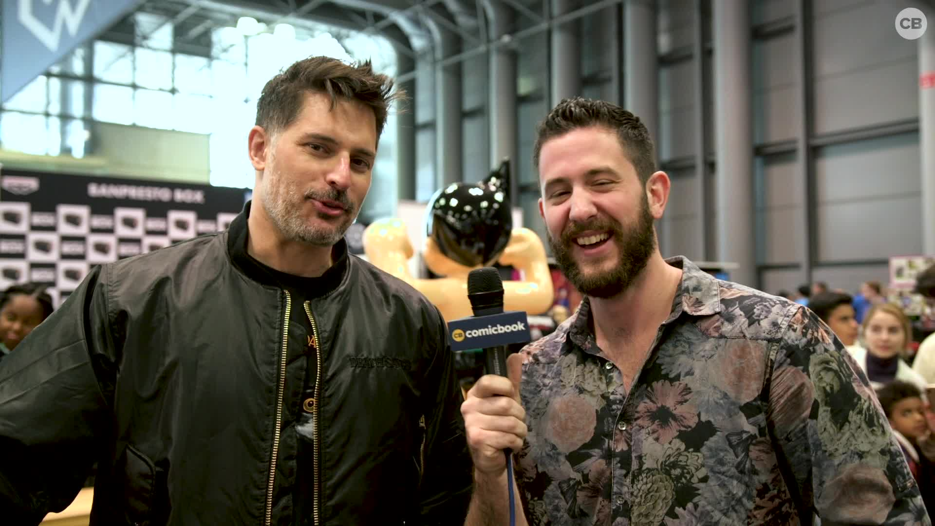 Joe Manganiello - NYCC 2019 Exclusive Interview screen capture