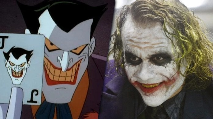 joker batman animated series heath ledger dark knight