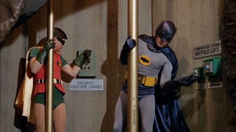 Joker Batpole scene