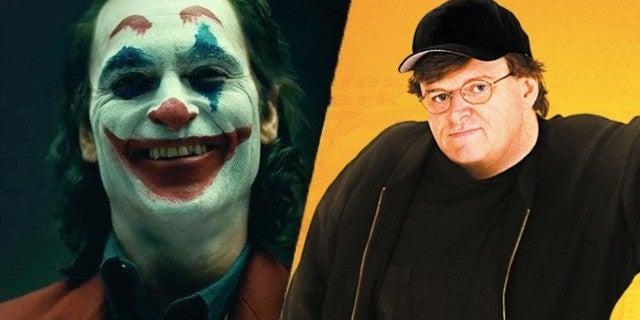 Bowling for Columbine Filmmaker Michael Moore Praises Joker