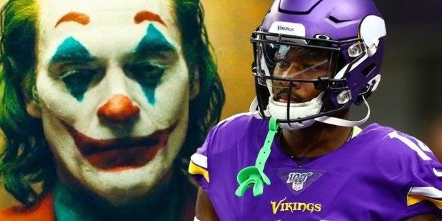 Minnesota Vikings' Stefon Diggs Wears Joker Cleats