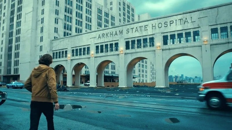 Joker Movie Arkham State Hospital