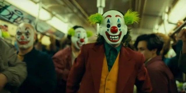 Joker Movie Clown Mask Subway Scene
