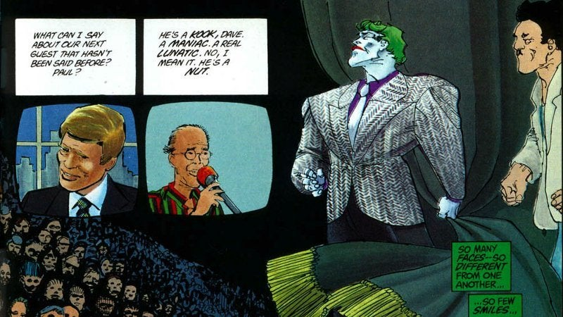 Joker Movie Dark Knight Returns David Endocrine Reference