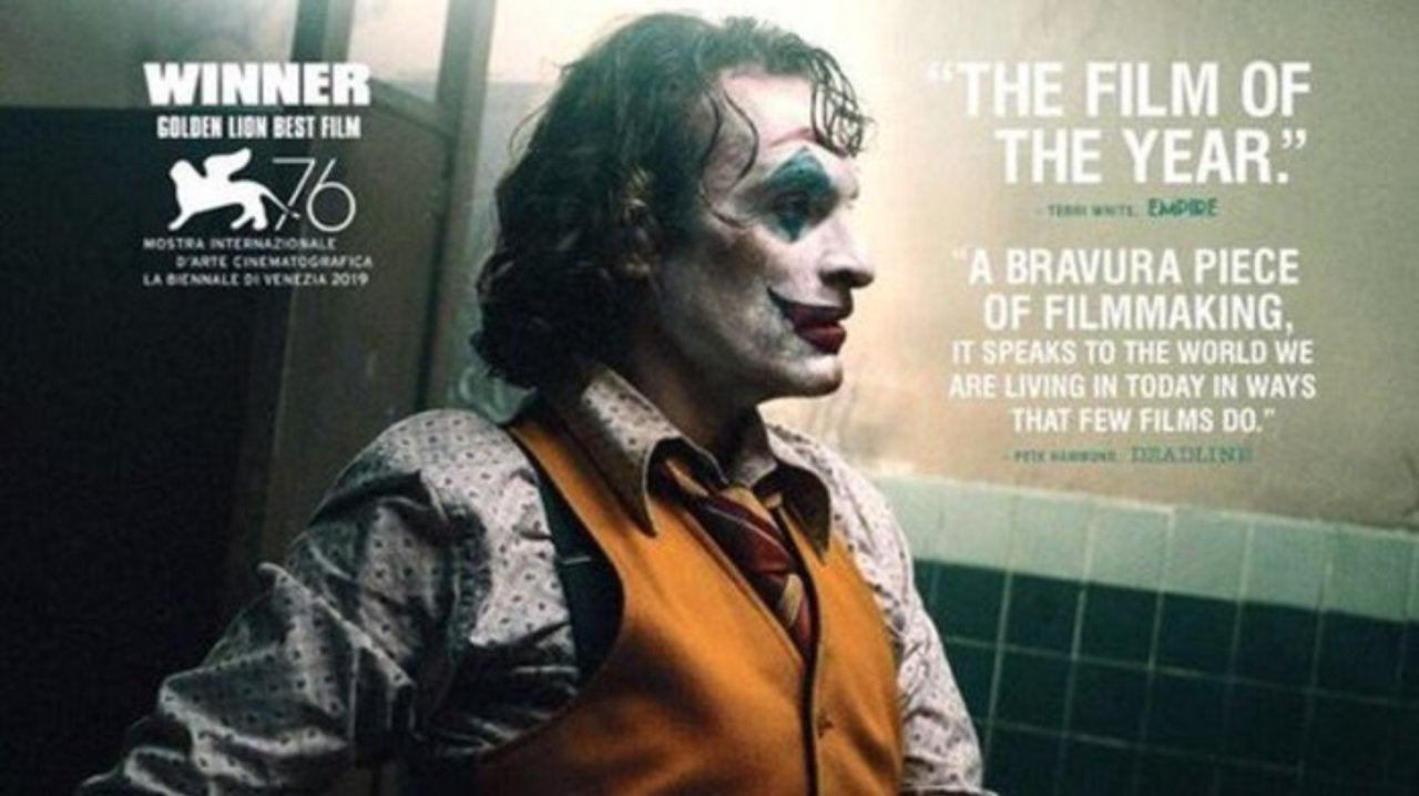 movie 2019 oscar Joker Movie Oscar Campaign Posters Revealed