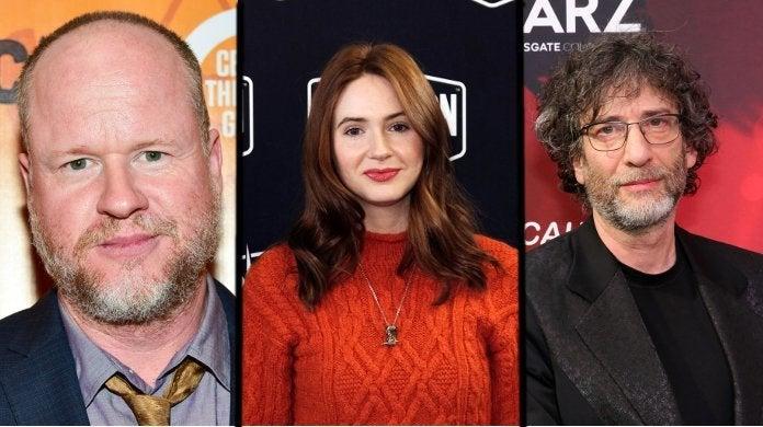 Joss Whedon Karen Gillan Neil Gaiman