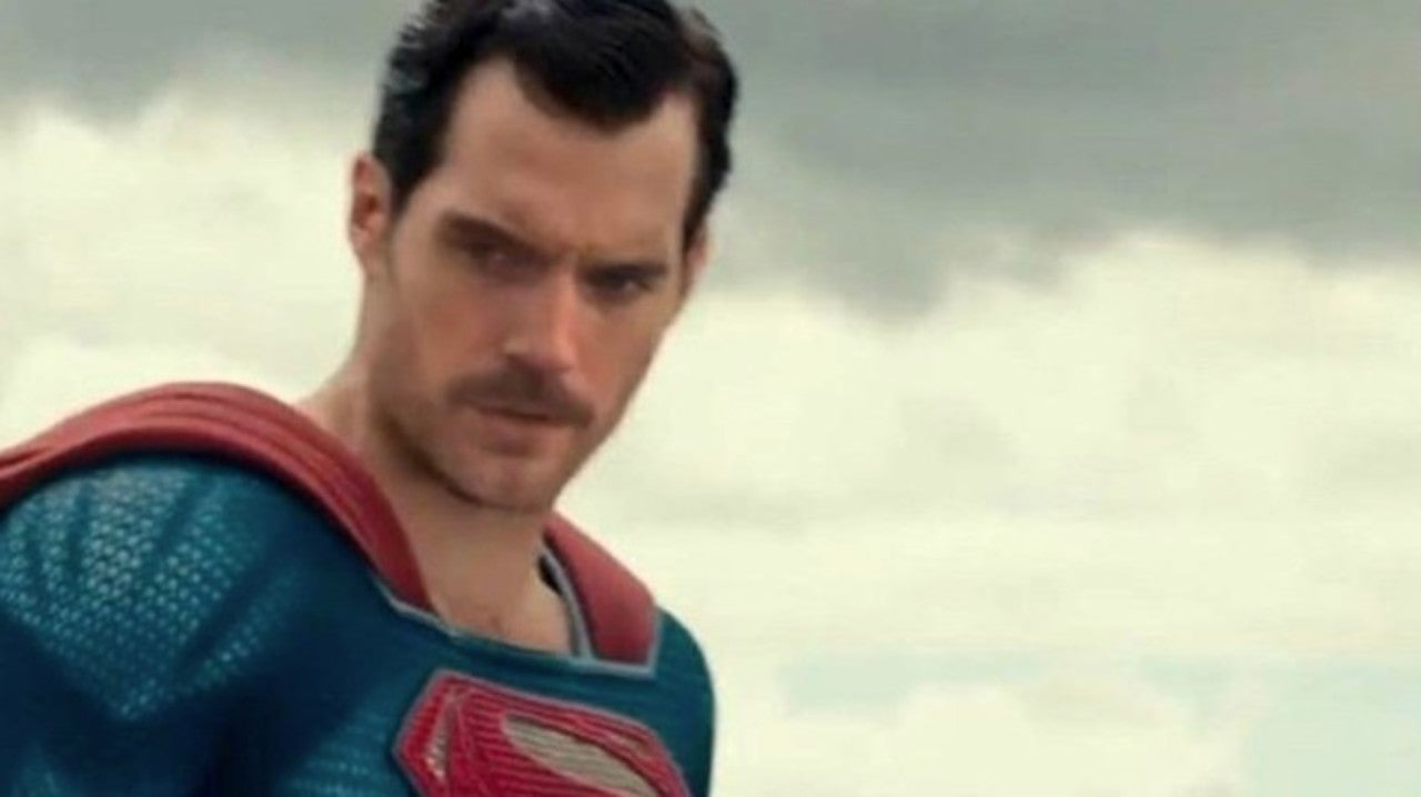 Superman's Infamous Mustache Appears in New Justice League BTS Photo