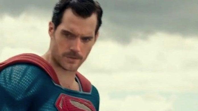 Justice League BTS Photo Superman Mustache No CGI Effects