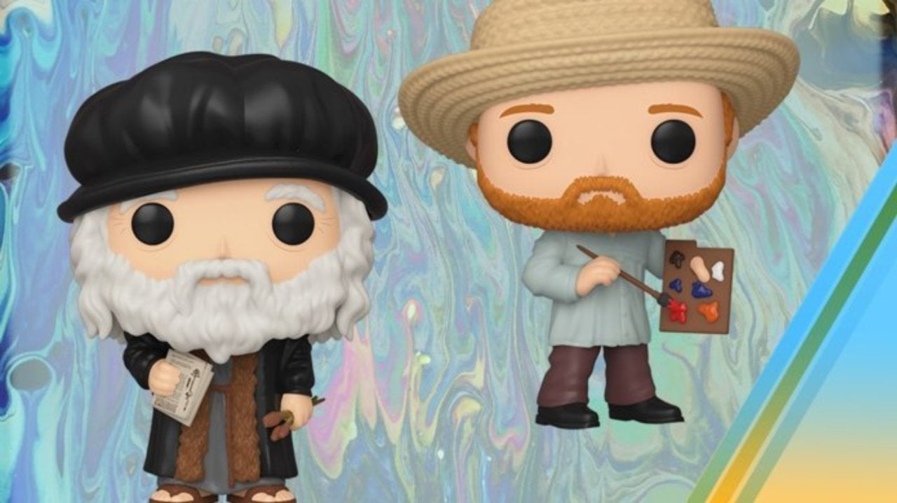Funko Adds Leonardo da Vinci and Vincent van Gogh Pop Figures to Their Artists Lineup