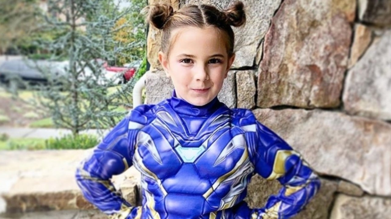 Avenger: Endgame's Morgan Stark Wins Halloween With Her Rescue Costume