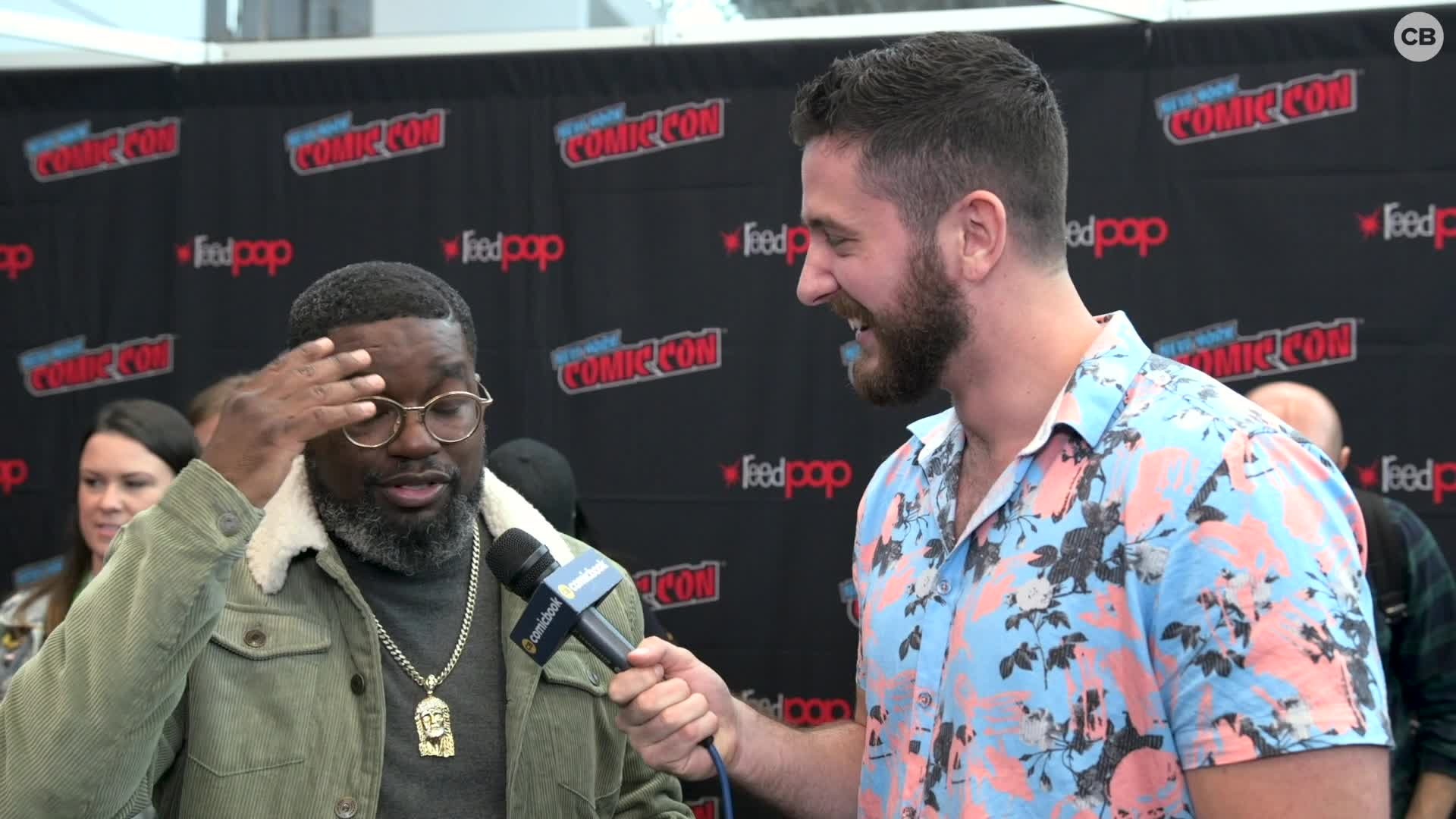 Lil Rel Howery - NYCC 2019 Exclusive Interview screen capture
