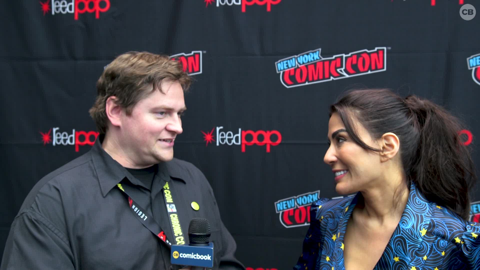 Marisol Nichols - NYCC 2019 Exclusive Interview screen capture