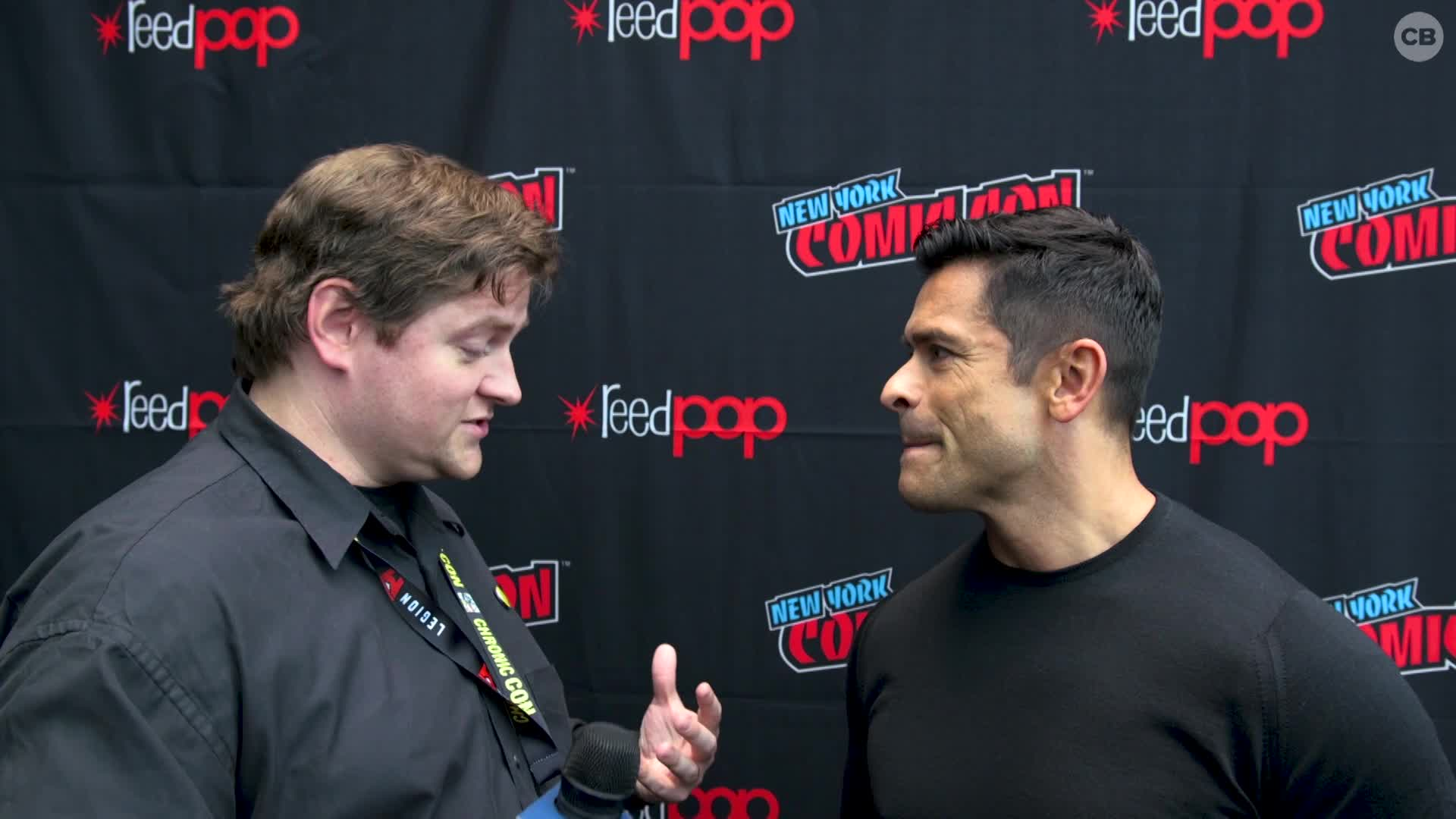 Mark Consuelos - NYCC 2019 Exclusive Interview screen capture