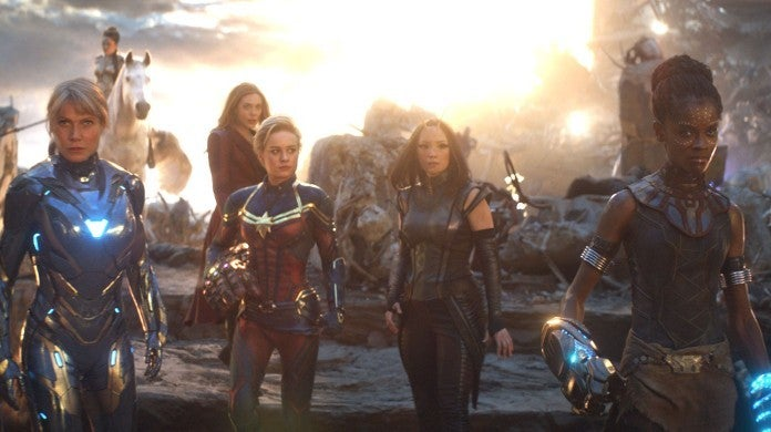 Marvel A-Force Female Avengers Movie Brie Larson Kevin Feige