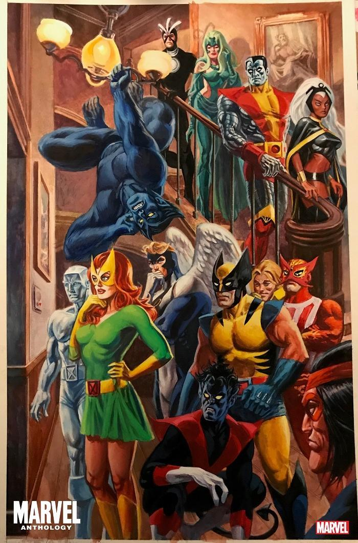 marvel anthology joe jusko cover 2