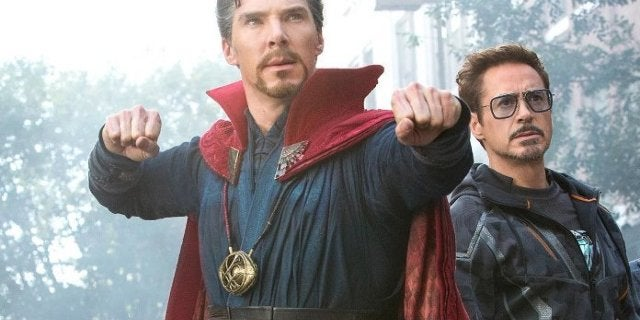 Marvel Benedict Cumberbatch Does Impression Robert Downey Jr