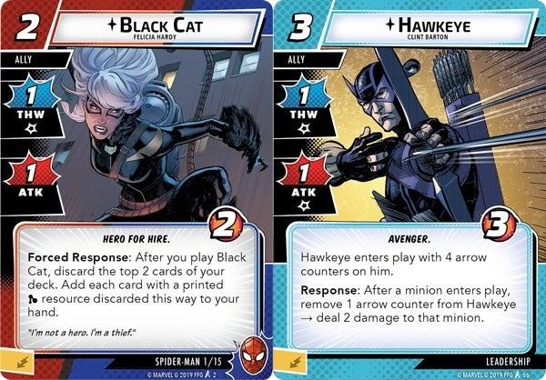 Marvel-Champions-Allies-Hawkeye-Black-Cat