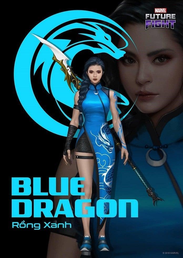 Marvel Futuro Luta Dragão Azul