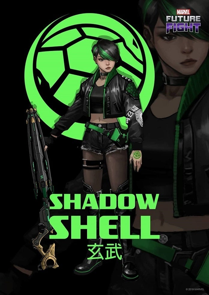 Marvel futuro luta sombra Shell