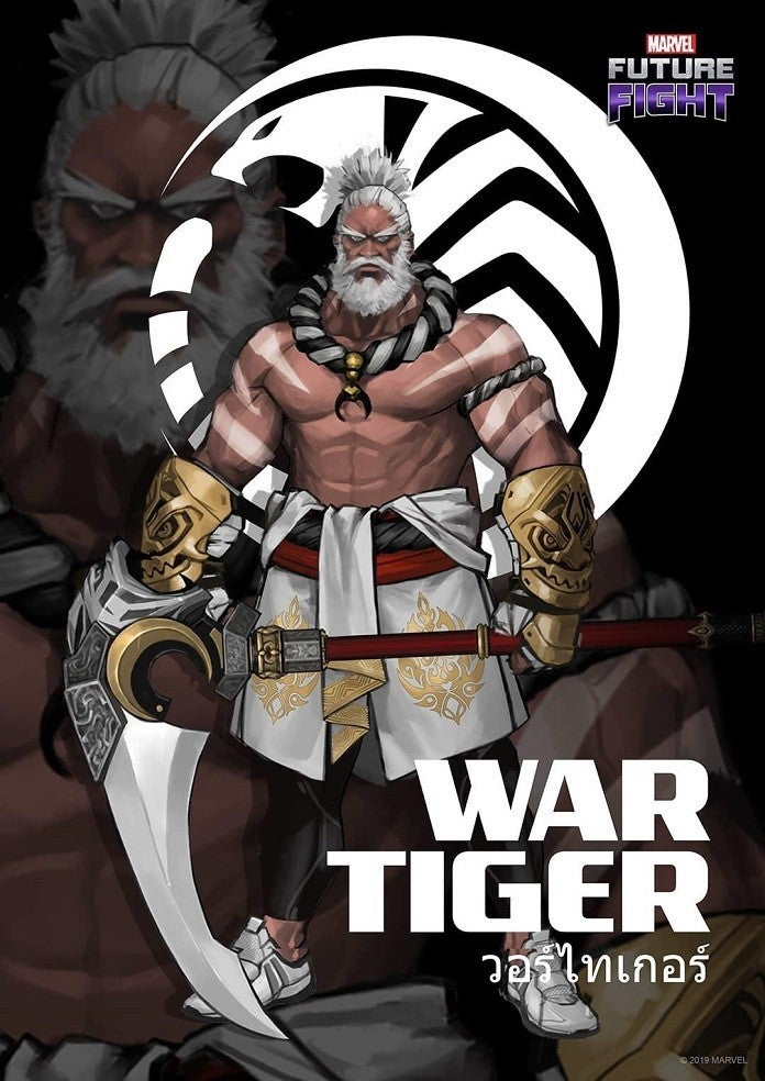 Marvel futuro luta guerra tigre