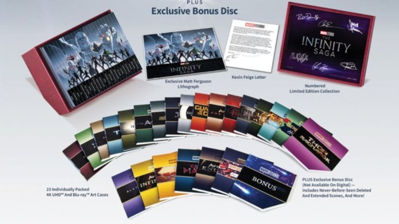 All The Deleted And Bonus Scenes In Marvel's Infinity Saga Box Set Revealed