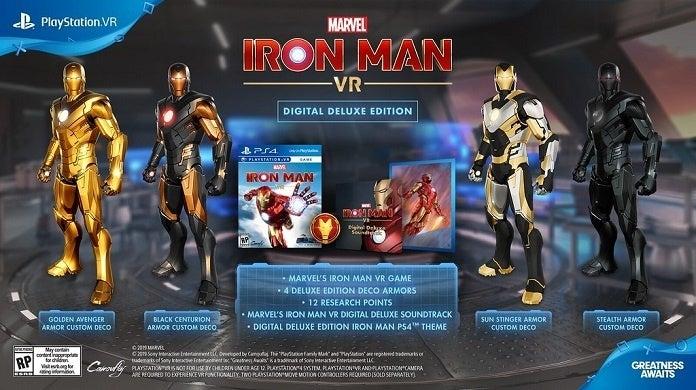 Marvel's Iron Man VR Bonuses