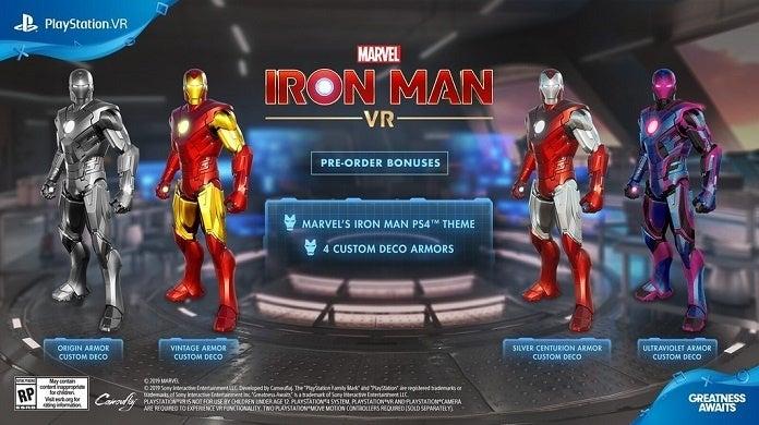Marvel's Iron Man VR Bonuses2