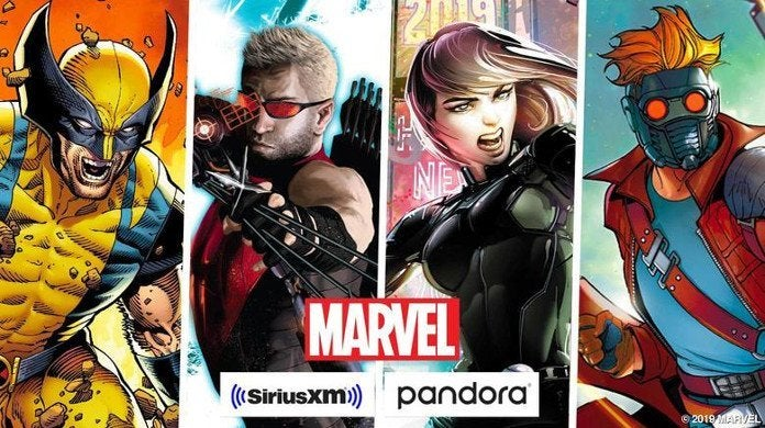 Marvel Sirius XM Pandora