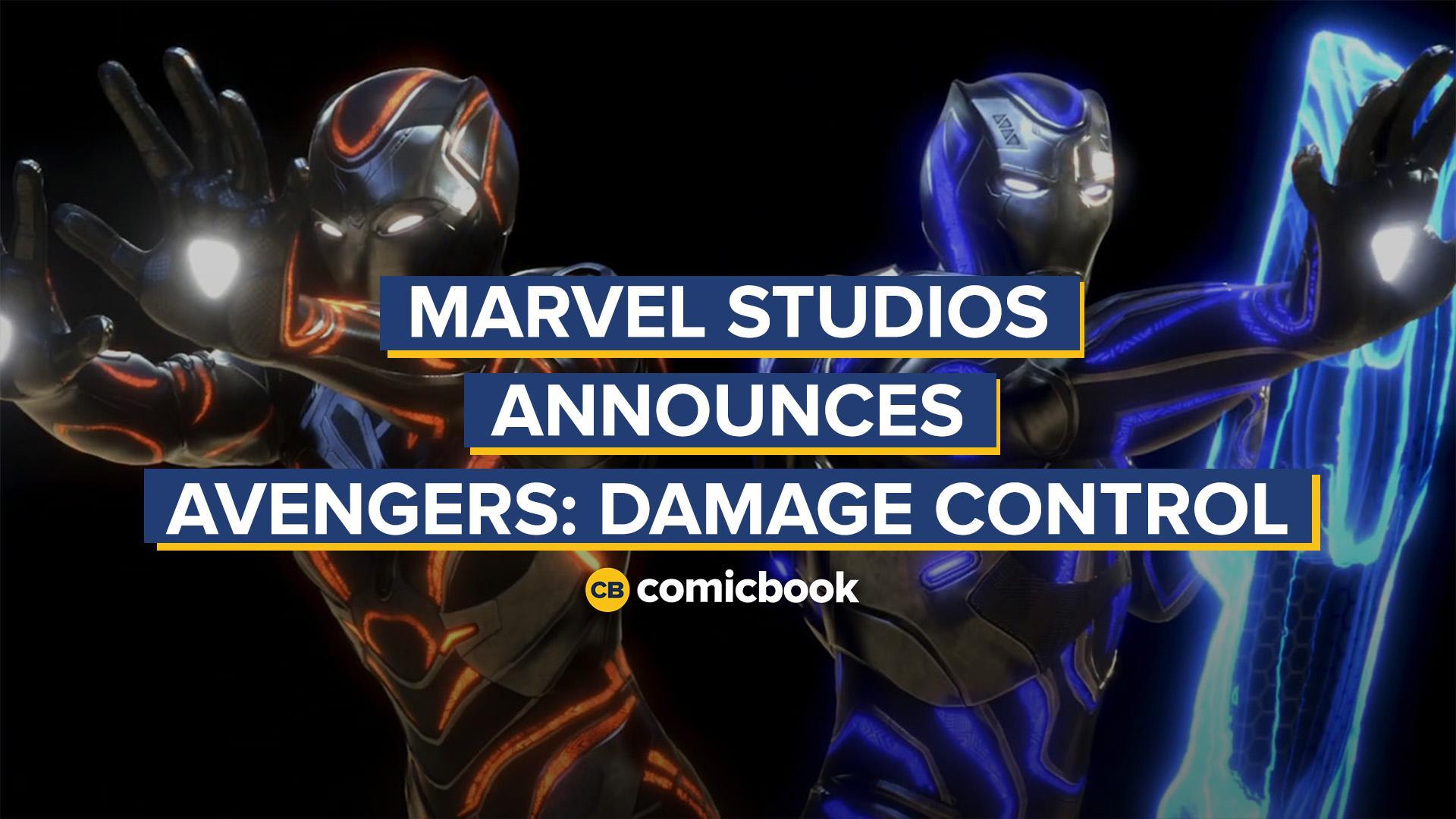 Marvel Studios Announces Avengers: Damage Control VR Game screen capture