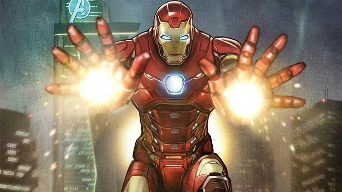 marvels avengers iron man comic cropped hed