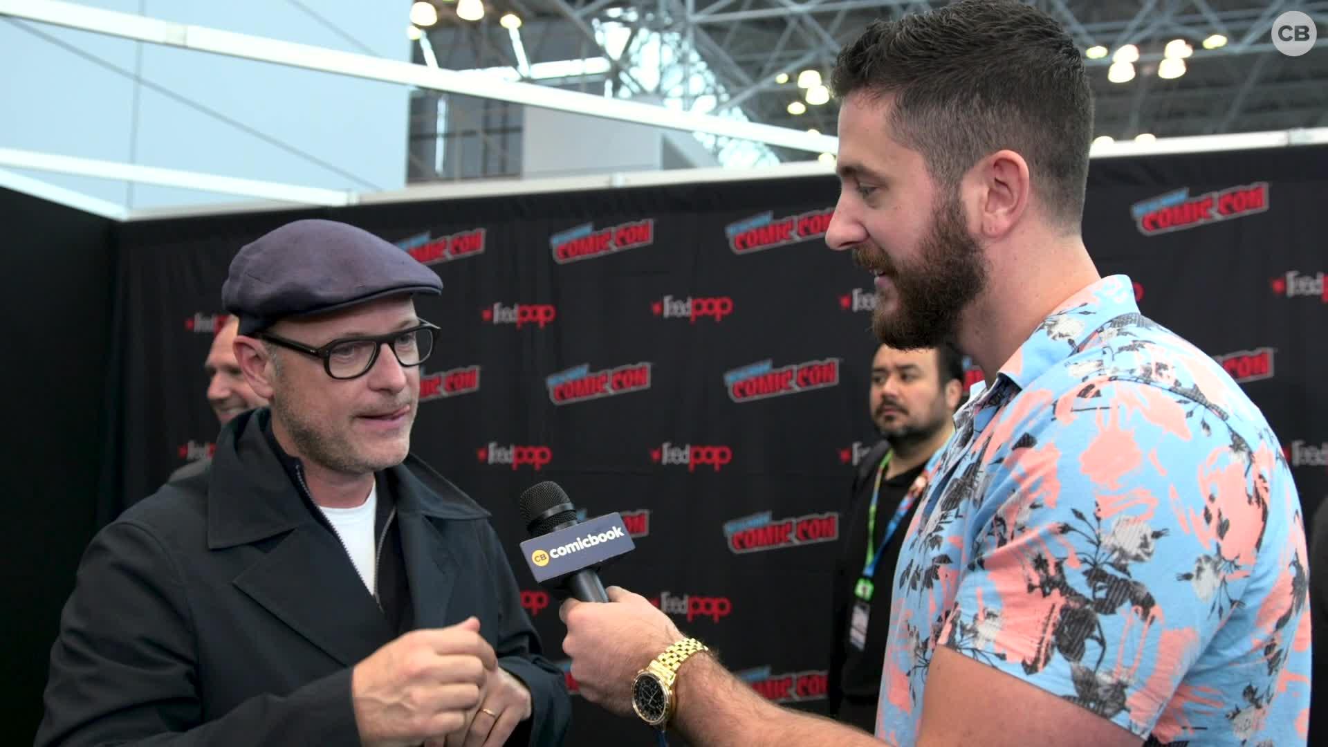 Matthew Vaughn - NYCC 2019 Exclusive Interview screen capture