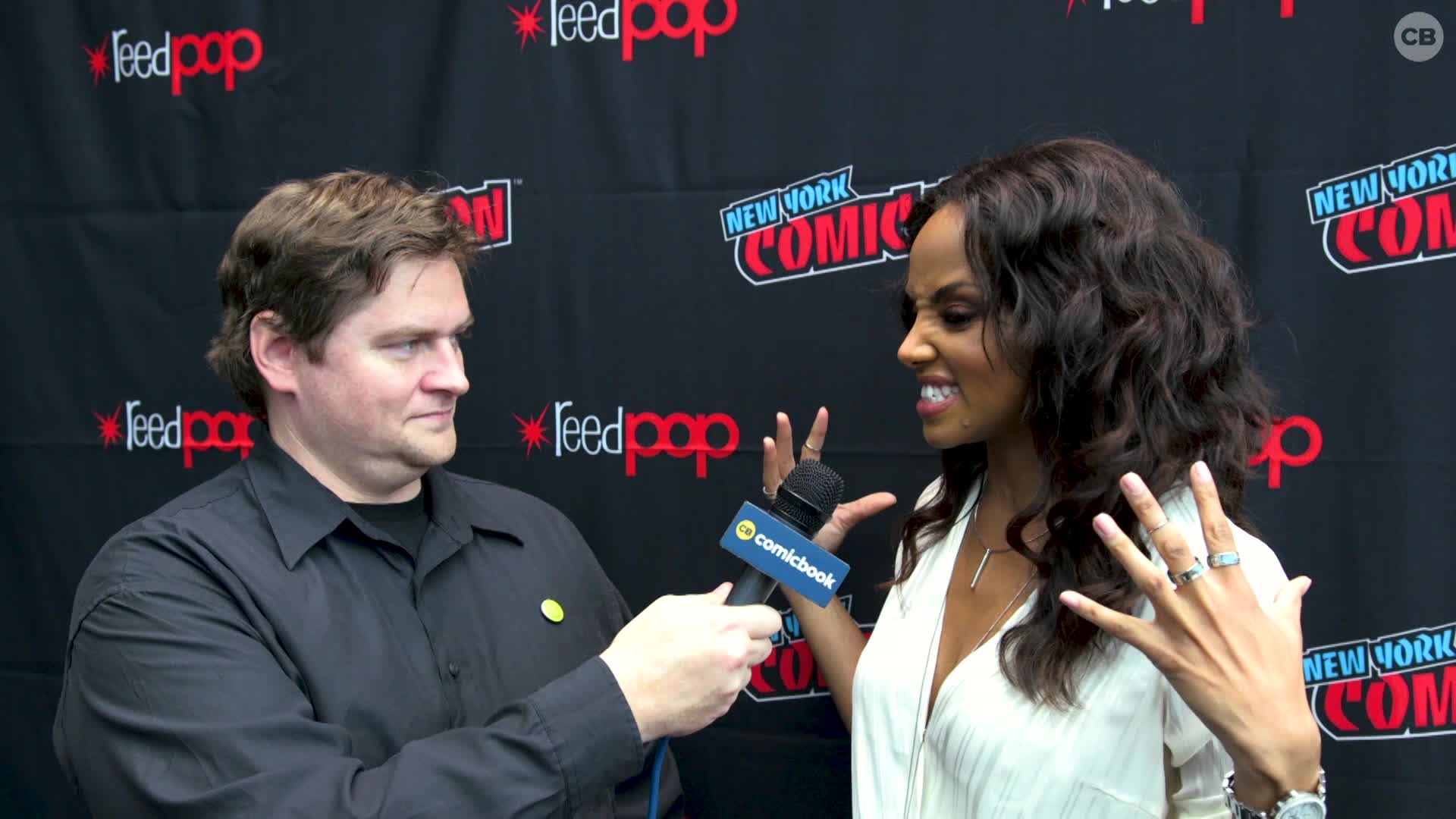 Meagan Tandy - NYCC 2019 Exclusive Interview screen capture
