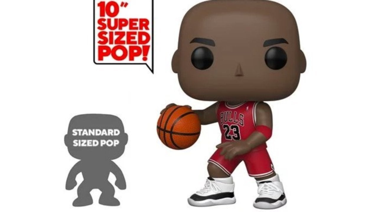 Funko's Supersized 10-Inch Bulls Michael Jordan Pop Figure is Live