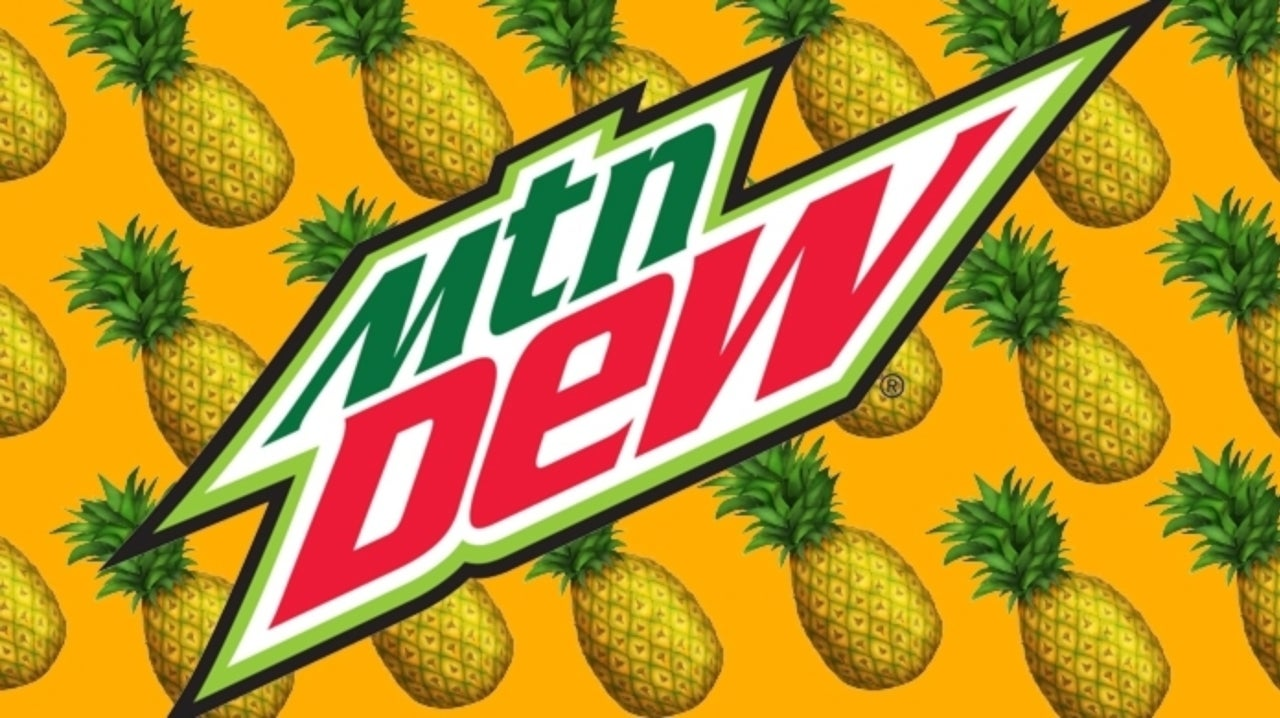 People Are Freaking out Over the New Pineapple-Flavored Mountain Dew