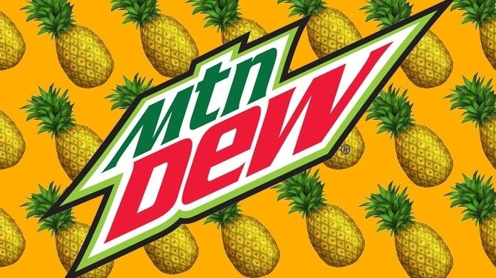 mtn dew pineapple