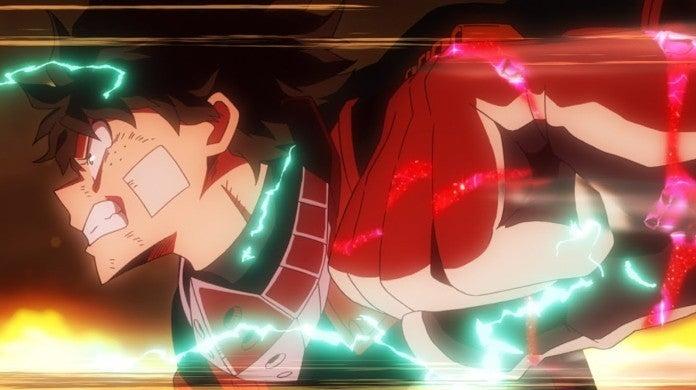 My Hero Academia Heroes Rising Izuku Midoriya