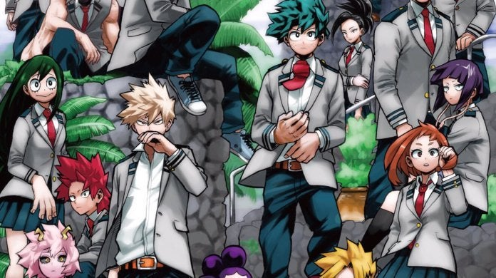 My Hero Academia Heroes Rising Movie Manga
