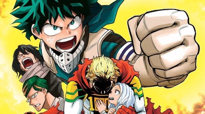 My Hero Academia Manga Shonen Jump