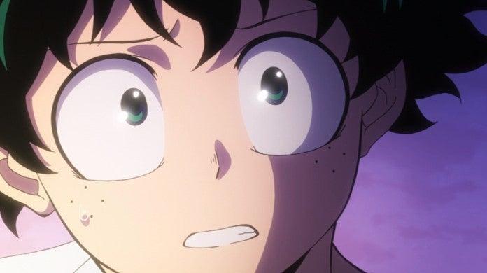 My Hero Academia Season 4 Izuku Midoriya