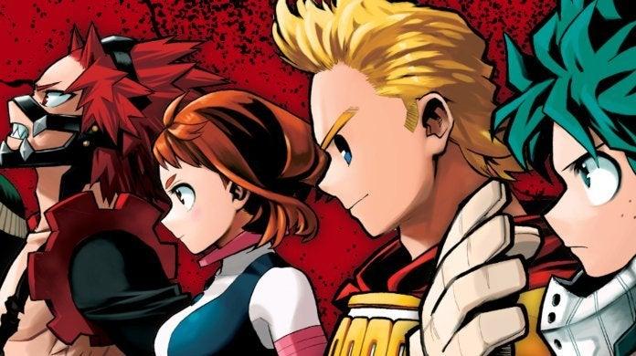 My Hero Academia Season 4 Manga