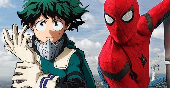 my hero academia spider-man