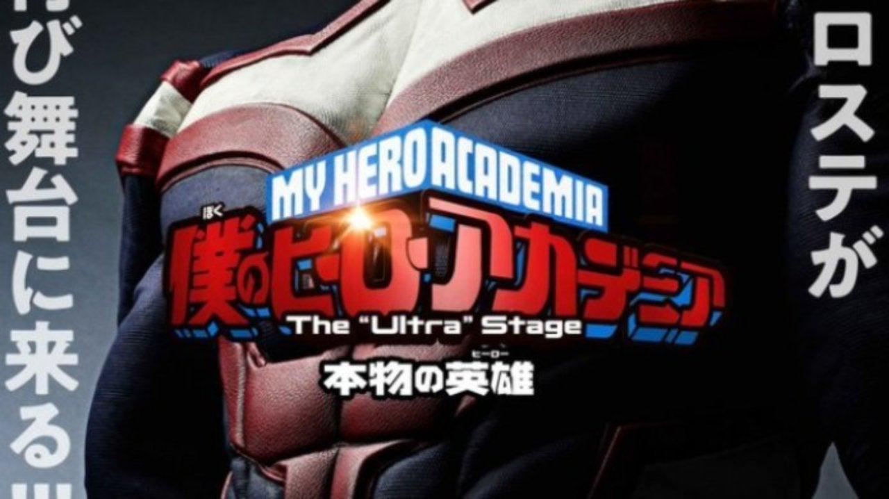 My Hero Academia Announces New Live-Action Play