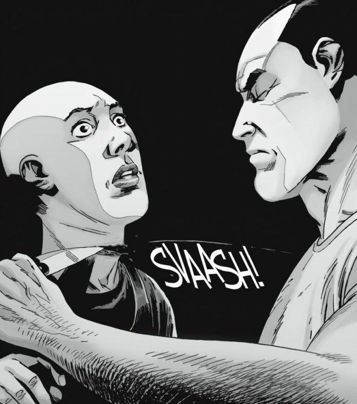 Negan kills Alpha