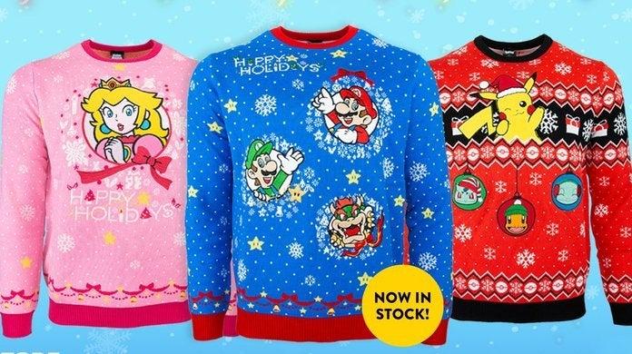 nintendo-ugly-christmas-sweaters