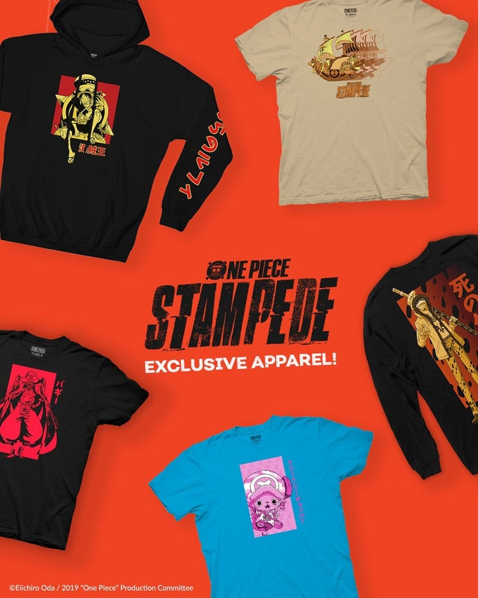 one piece stampede anime clothes